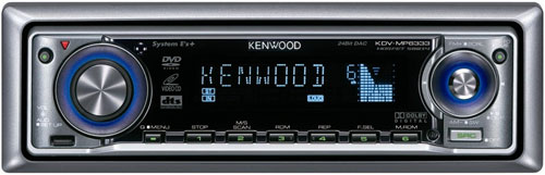 Магнитола Kenwood KDV-MP6333