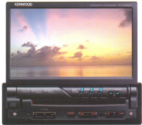Магнитола Kenwood KVT-554DVD