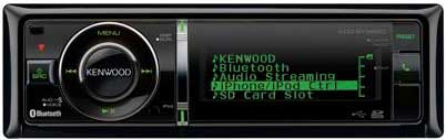 Магнитола Kenwood KDC-BT92SD