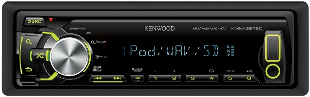 Магнитола Kenwood KMM-357SD