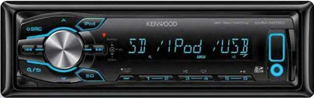Магнитола Kenwood KMM-361SD