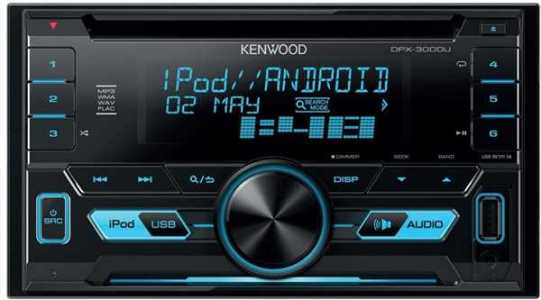 Магнитола Kenwood DPX-5000BT