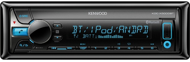 Магнитола Kenwood KDC-X5000BT