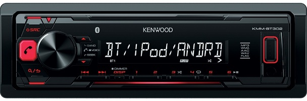 Магнитола Kenwood KMM-BT302