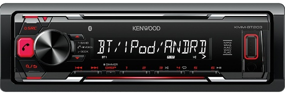 Магнитола Kenwood KMM-BT203