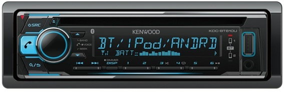 Магнитола Kenwood KDC-BT610U